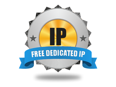 A completely free Dedicated IP address
